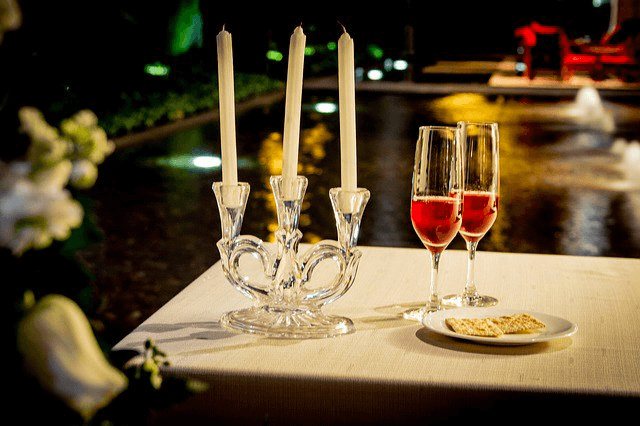 Le Moulin de Jouenery et Spa - Diner romantique